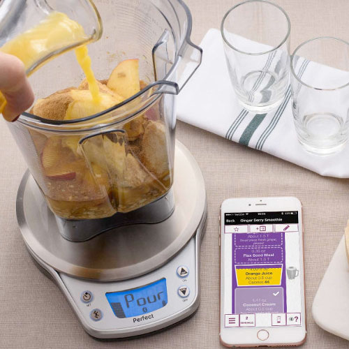 Perfect blend app available now scale coming fall 2016 for Wireless perfect bake pro