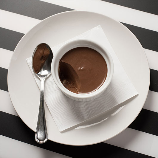 Chocolate pot de creme photo