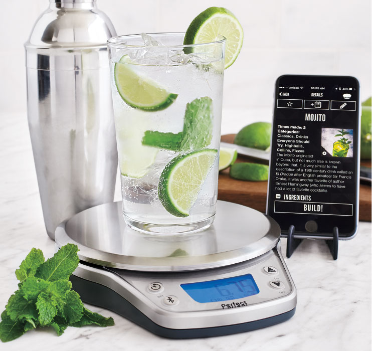 Perfect kitchen pro perfect company for Perfect drink bluetooth scale