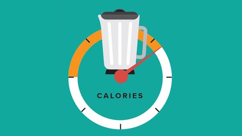Calorie counter screenshot